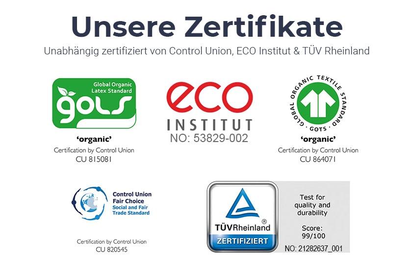 Bild von Bio Zertifikate Una Organic